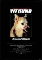 White Dog - Swedish Movie Poster (xs thumbnail)