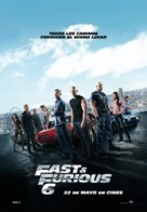 Furious 6 - Spanish Movie Poster (xs thumbnail)