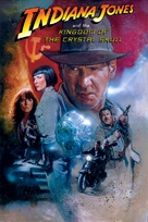 Indiana Jones and the Kingdom of the Crystal Skull - DVD movie cover (xs thumbnail)