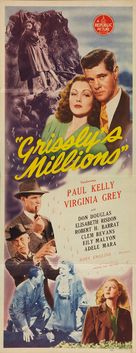 Grissly's Millions - Movie Poster (xs thumbnail)