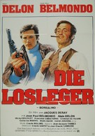 Borsalino - German Movie Poster (xs thumbnail)