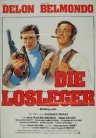 Borsalino - German Movie Poster (xs thumbnail)