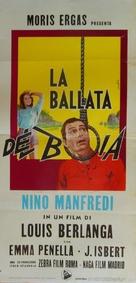 El verdugo - Italian Movie Poster (xs thumbnail)
