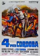 Cannon for Cordoba - Italian Movie Poster (xs thumbnail)