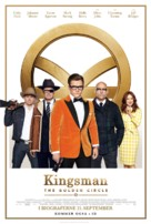 Kingsman: The Golden Circle - Danish Movie Poster (xs thumbnail)