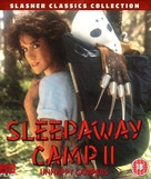 Sleepaway Camp II: Unhappy Campers - British Movie Cover (xs thumbnail)