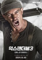 The Expendables 3 - South Korean Movie Poster (xs thumbnail)