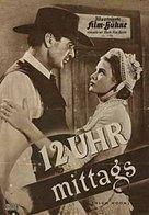 High Noon - German Movie Poster (xs thumbnail)