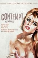 Le mépris - Movie Cover (xs thumbnail)