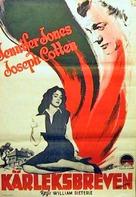 Portrait of Jennie - Swedish Movie Poster (xs thumbnail)