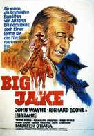 Big Jake - German Movie Poster (xs thumbnail)