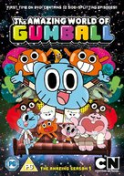"""The Amazing World of Gumball"" - British DVD movie cover (xs thumbnail)"