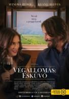 Destination Wedding - Hungarian Movie Poster (xs thumbnail)