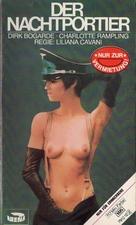 Il portiere di notte - German VHS cover (xs thumbnail)