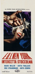Blondin i fara - Italian Movie Poster (xs thumbnail)
