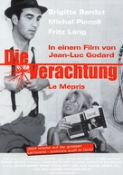 Le mépris - German Movie Poster (xs thumbnail)
