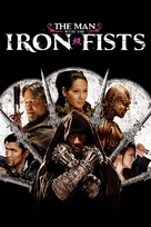 The Man with the Iron Fists - DVD movie cover (xs thumbnail)