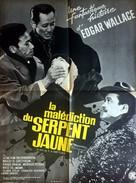 Der Fluch der gelben Schlange - French Movie Poster (xs thumbnail)
