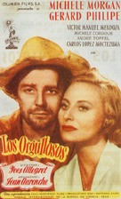 Orgueilleux, Les - Spanish Movie Poster (xs thumbnail)