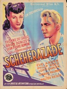 Song of Scheherazade - French Movie Poster (xs thumbnail)