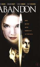 Abandon - Danish VHS movie cover (xs thumbnail)