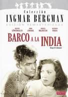 Skepp till India land - Spanish DVD cover (xs thumbnail)