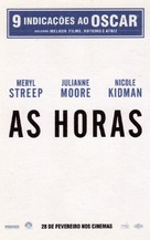 The Hours - Brazilian Movie Poster (xs thumbnail)