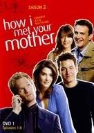"""""""How I Met Your Mother"""" - French DVD movie cover (xs thumbnail)"""
