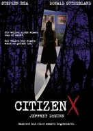 Citizen X - German poster (xs thumbnail)