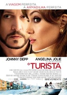 The Tourist - Portuguese Movie Poster (xs thumbnail)
