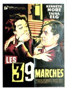 The 39 Steps - French Movie Poster (xs thumbnail)