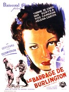 River Lady - French Movie Poster (xs thumbnail)