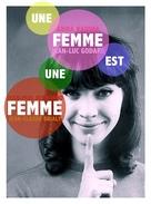 Une femme est une femme - French Movie Cover (xs thumbnail)