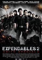 The Expendables 2 - Belgian Movie Poster (xs thumbnail)