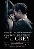 Fifty Shades of Grey - Romanian Movie Poster (xs thumbnail)