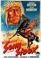 The Savage - German Movie Poster (xs thumbnail)