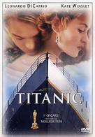 Titanic - French DVD movie cover (xs thumbnail)
