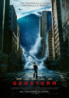 Geostorm - Italian Movie Poster (xs thumbnail)