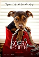 A Dog's Way Home - Estonian Movie Poster (xs thumbnail)