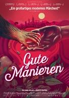As Boas Maneiras - German Movie Poster (xs thumbnail)