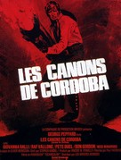 Cannon for Cordoba - French Movie Poster (xs thumbnail)