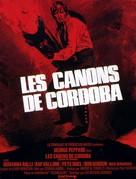 Cannon for Cordoba - French Movie Poster (xs thumbnail)