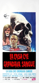 The House That Dripped Blood - Italian Movie Poster (xs thumbnail)