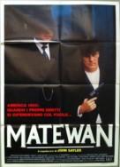 Matewan - Italian Movie Poster (xs thumbnail)