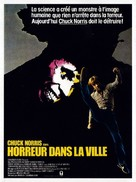 Silent Rage - French Movie Poster (xs thumbnail)