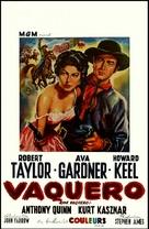 Ride, Vaquero! - Belgian Movie Poster (xs thumbnail)