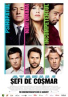 Horrible Bosses - Romanian Movie Poster (xs thumbnail)
