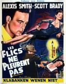 Undercover Girl - Belgian Movie Poster (xs thumbnail)