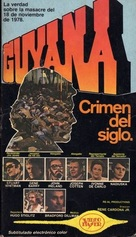 Guyana: Crime of the Century - Argentinian VHS cover (xs thumbnail)