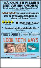 Look Both Ways - Swedish Movie Poster (xs thumbnail)